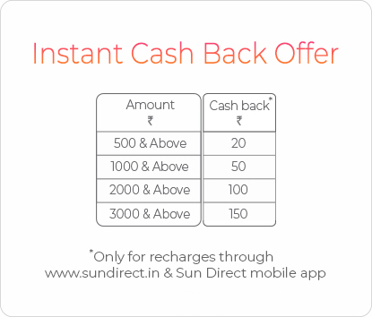Instant Cash Back offer